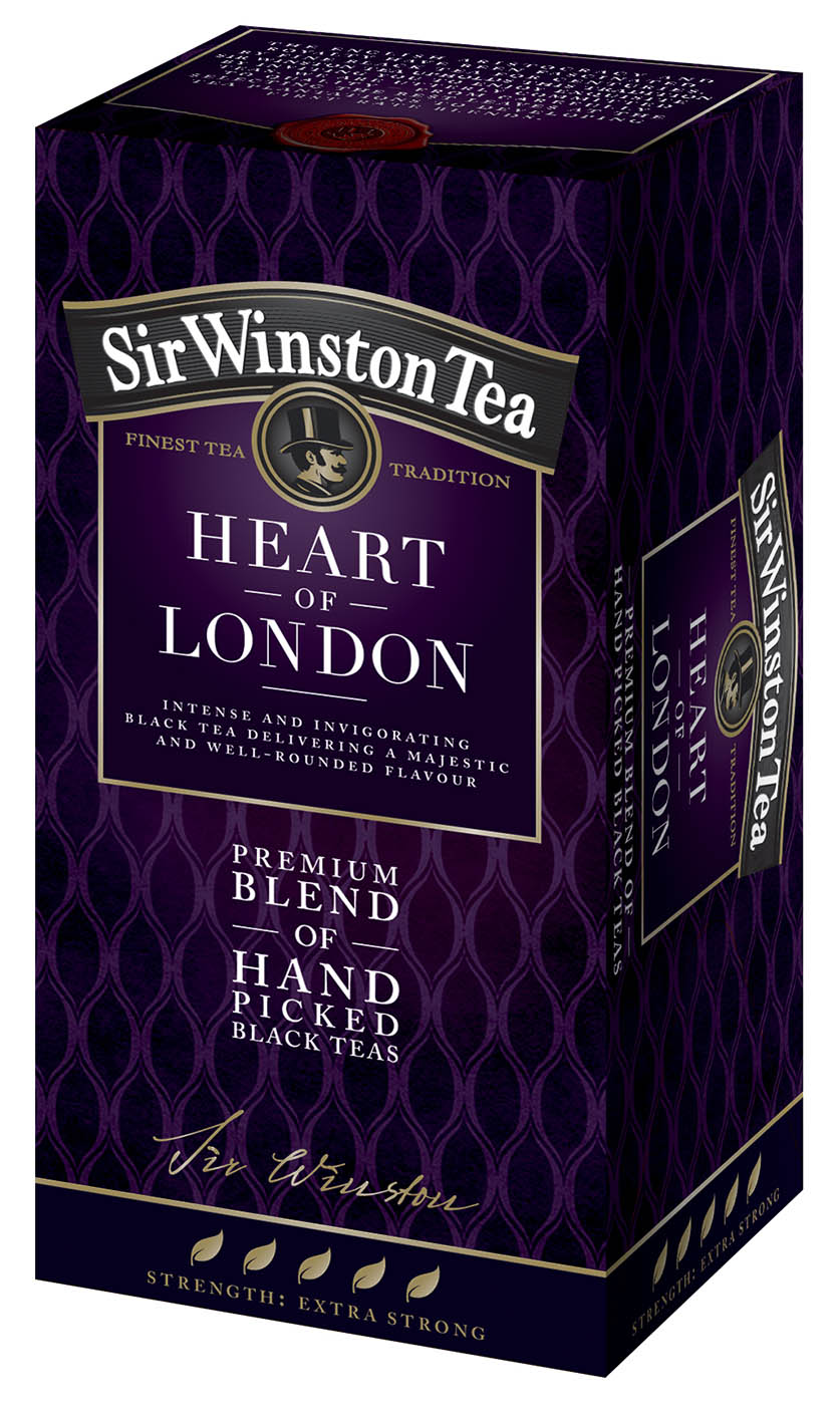 Sir Winston Heart of London 20*2g