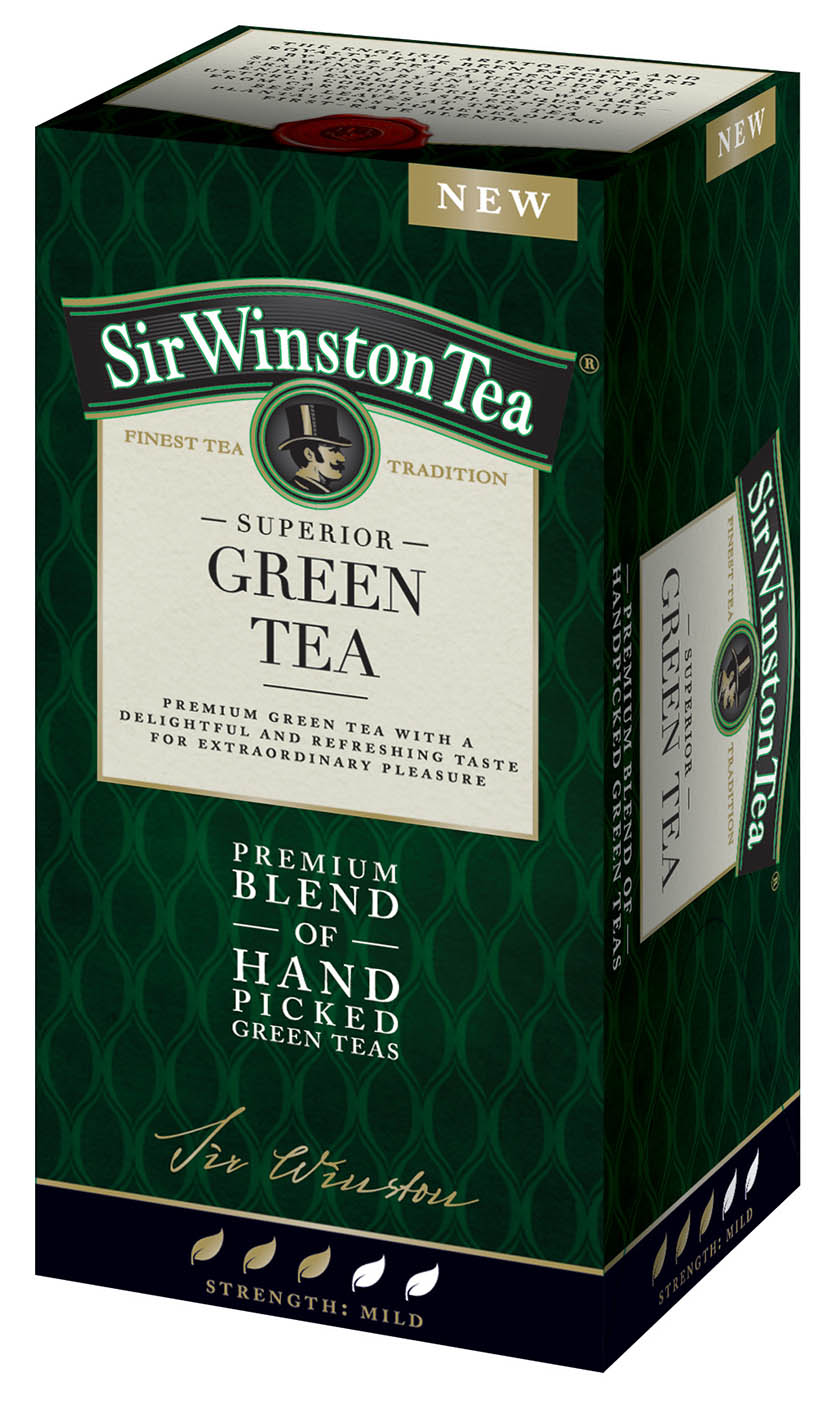 Sir Winston Green Tea 20*1,75g