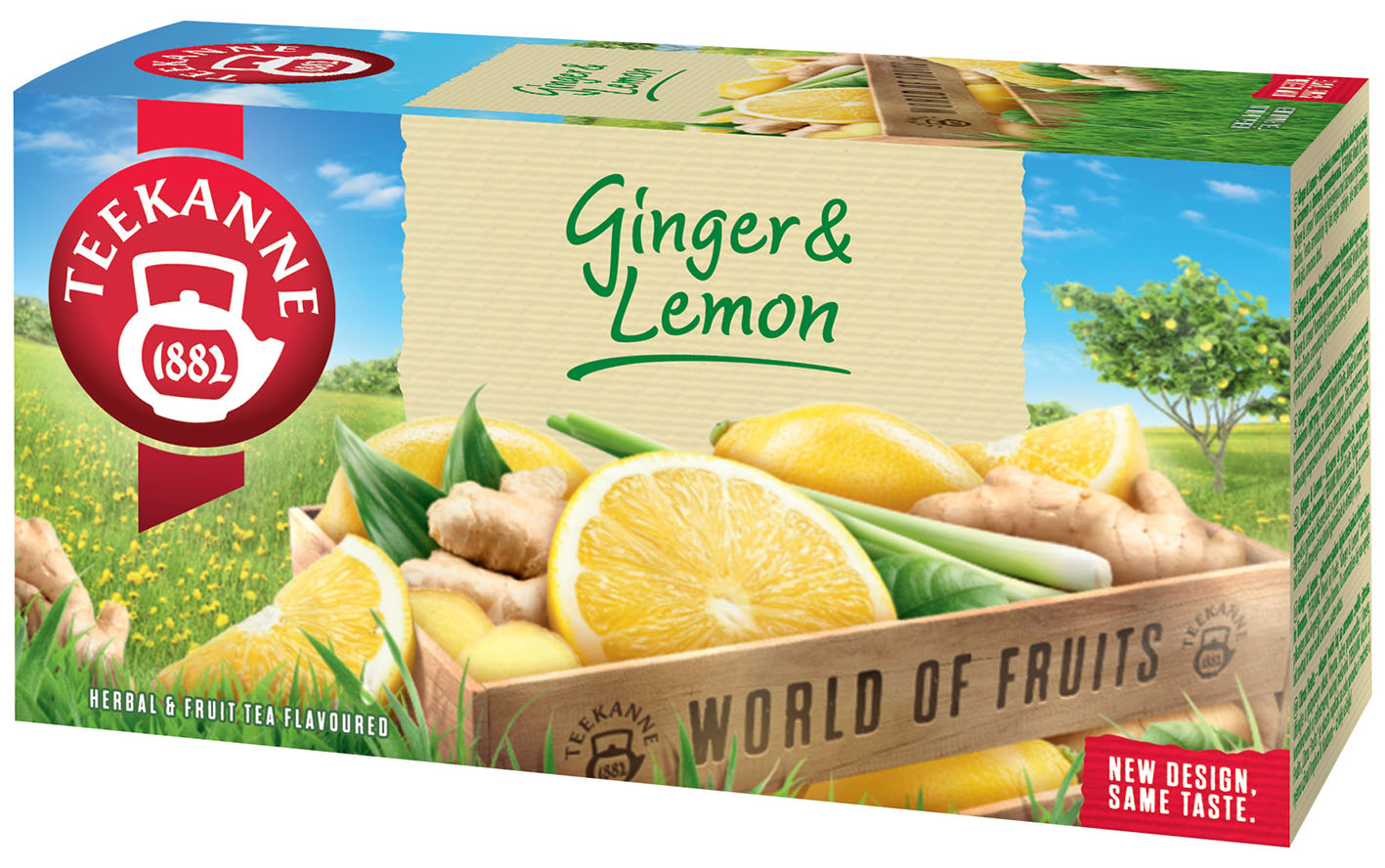 Teekanne Ginger Lemon 20*1,75g