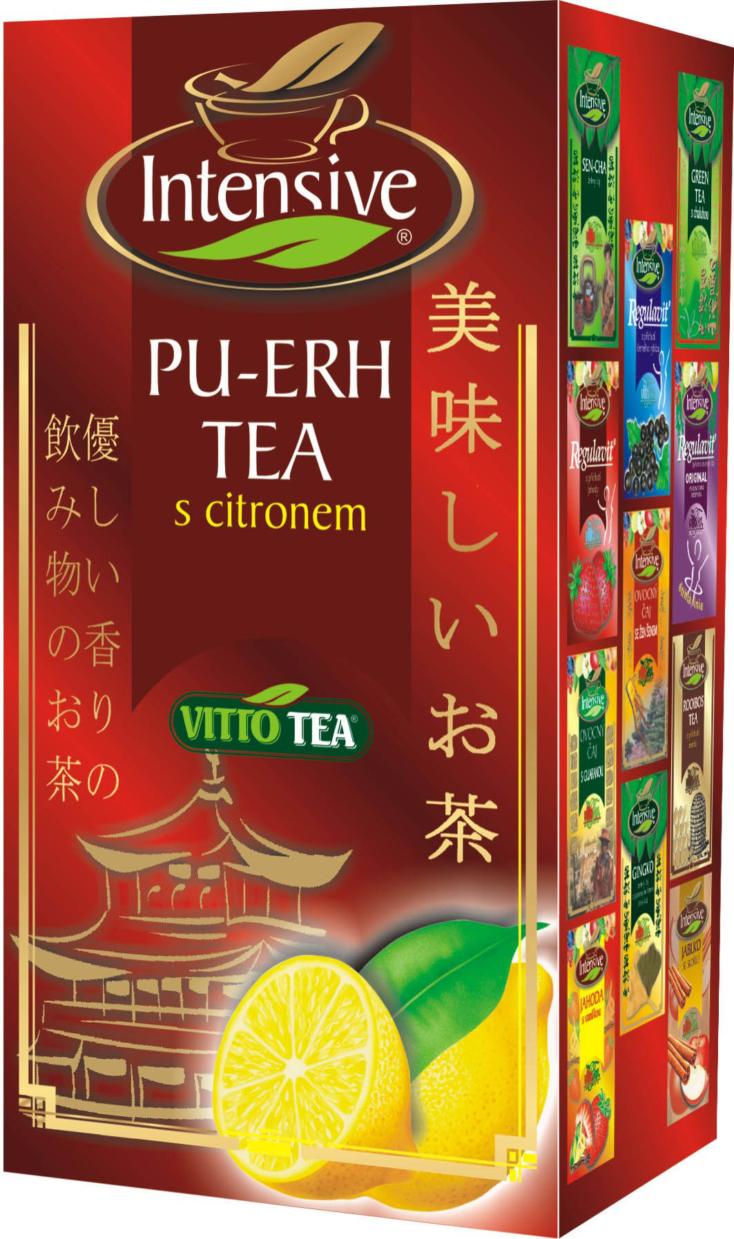 Vitto Intens PU-ERH citron 30g