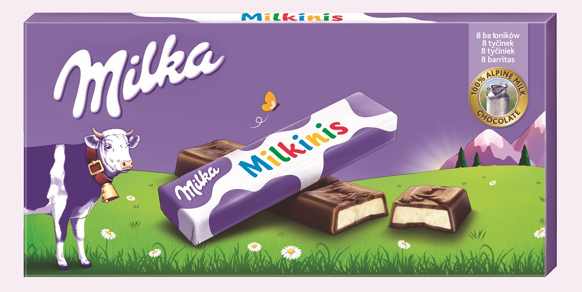 Milkinis MINISTICKS 87,5g    <