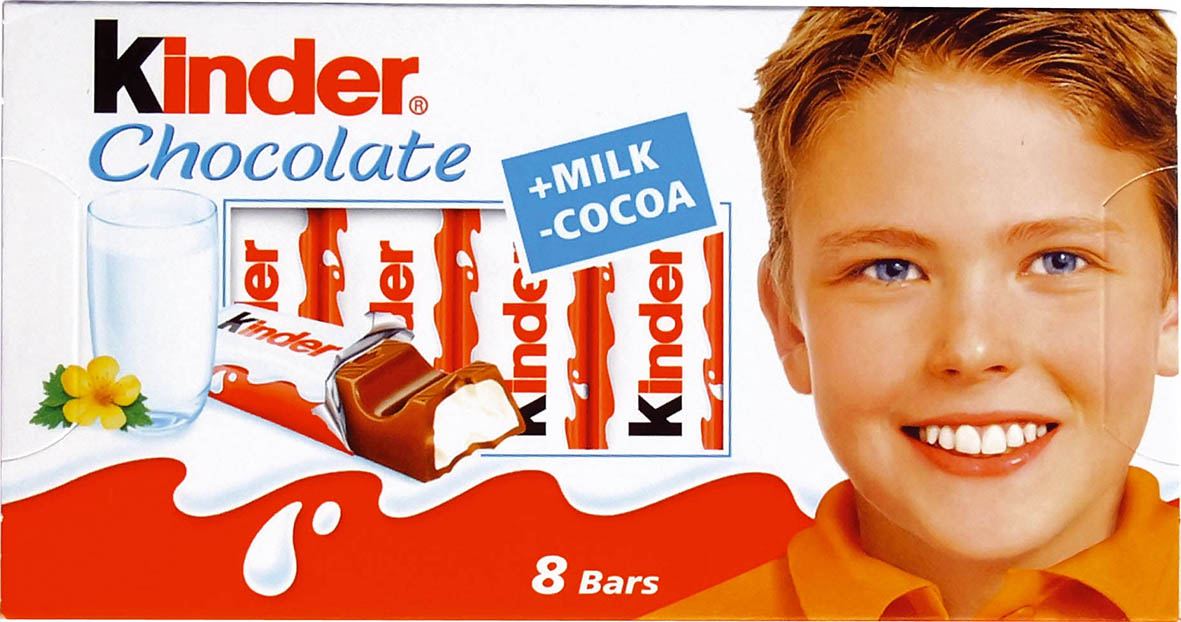 Kinder CHOCOLATE 100g T8