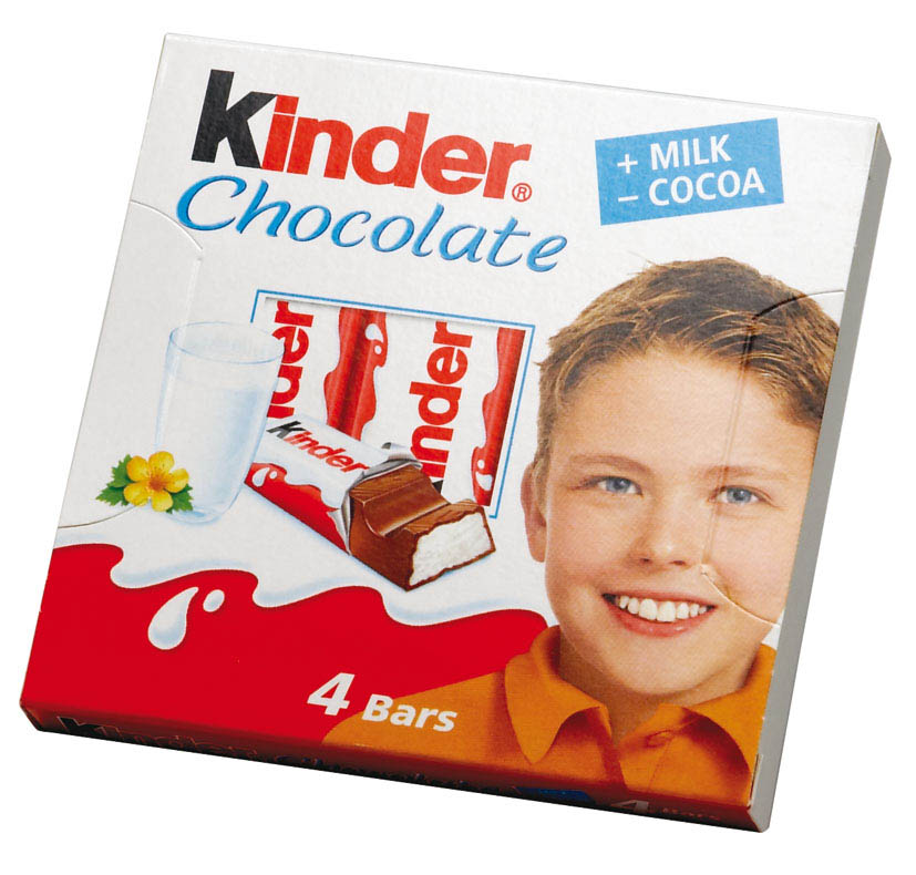 Kinder Chocolate 50g T4