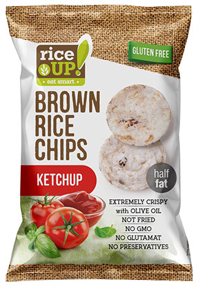 Rice Up! Chips Kečup 60g