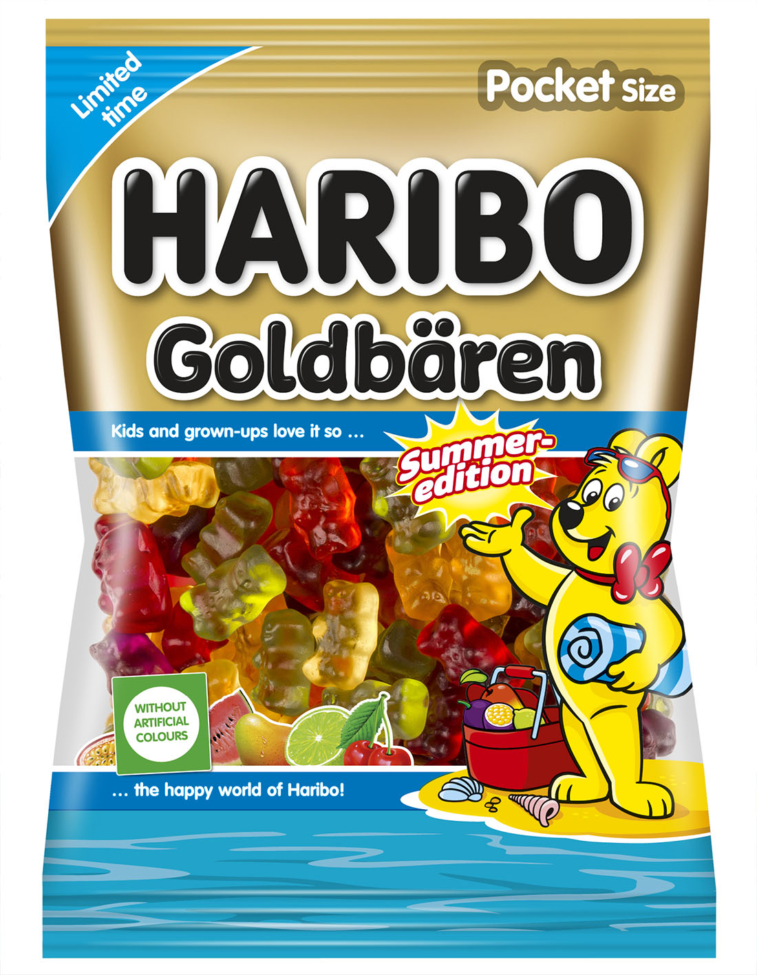 Haribo Funny Cubes 90g