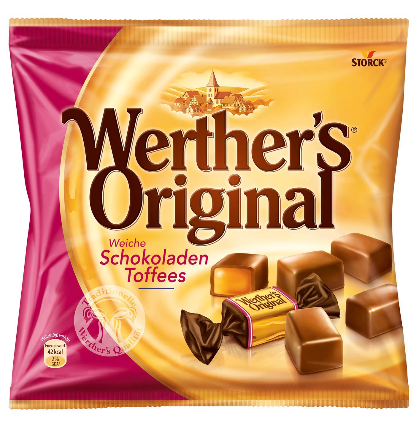 Werthers ChocoToffees 70g 1308
