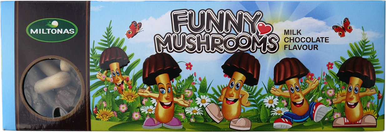 Funny Mushrooms Milk 170g