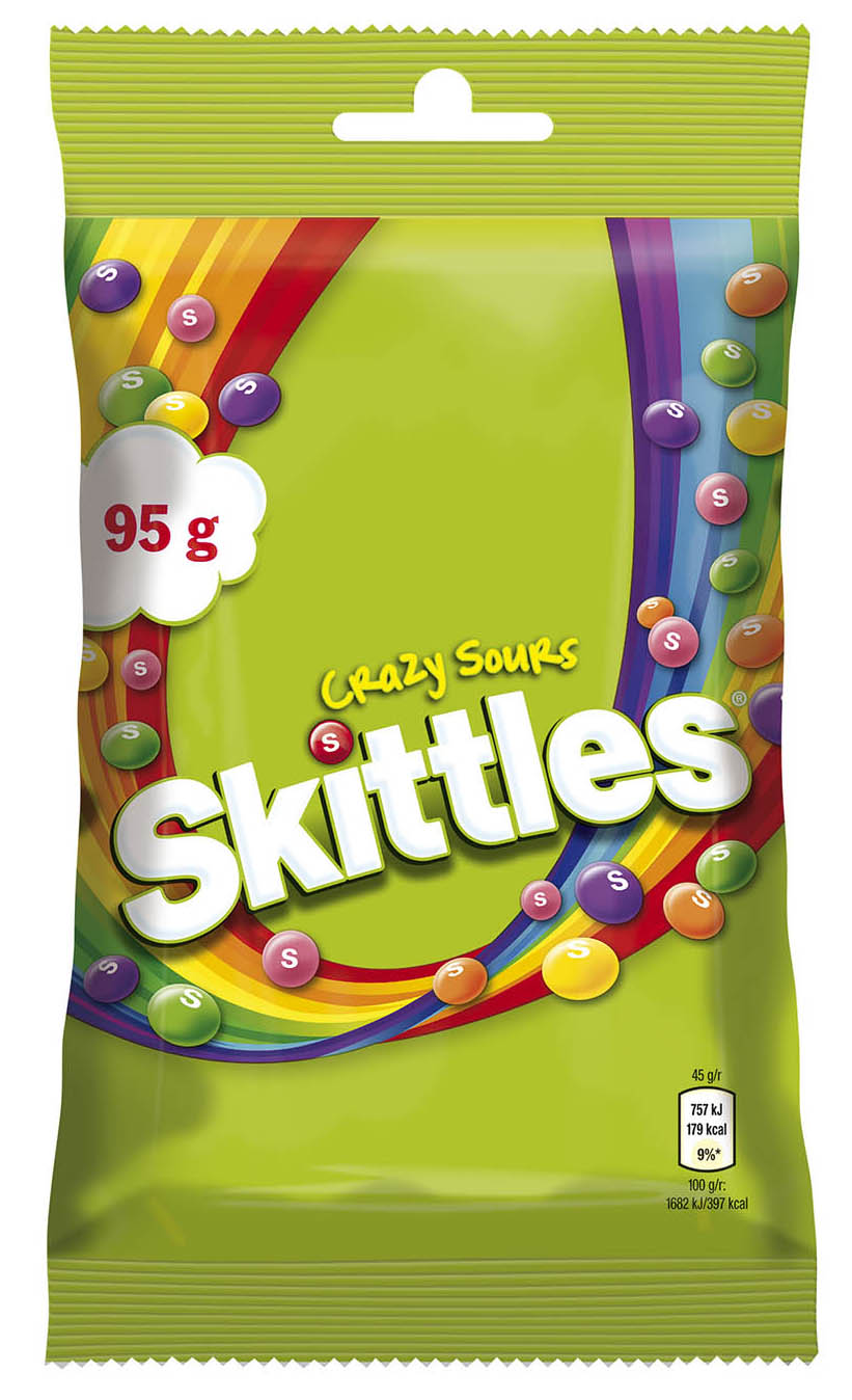 Skittles *95g* CrazySours
