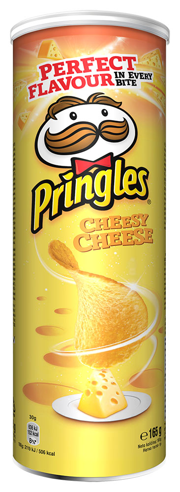 Pringles Cheesy Cheese 165g