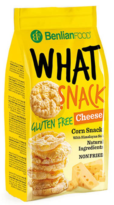What Snack Corn CHEESE 50G