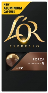 L'OR Espresso Forza Intenzita 9 - 10 ks