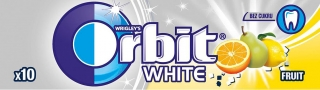 Orbit White Fruit        dražé
