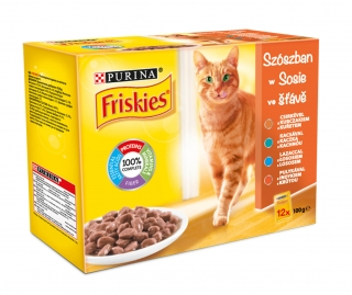 Friskies 12pack Mix         5301