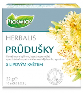 Pickwick herbal Průdušky 10*2,2g