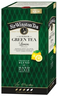 Sir Winston Green Tea LEMON 20*1,75