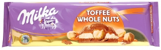 Milka Toffee Wholenut 300g exp. 16/09/20