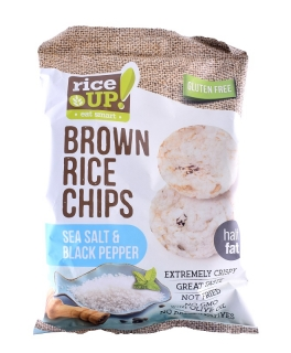 Rice Up! Chips moř.Sůl Pepř 60g