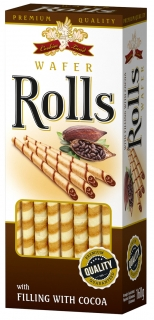 Cookiesland Wafer-roll Cocoa 160g