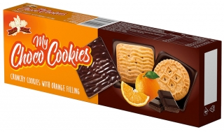 MY Choco Cookies Orange 130g