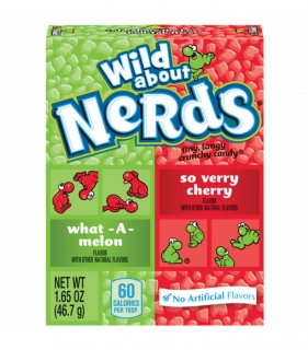 Nerds MALÉ Melon Cherry 47g