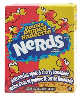 Nerds MALÉ APPLE Cherry 47g