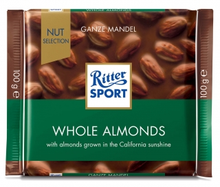 Ritter Sport Whole ALMONDS 100 g