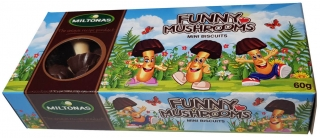 Funny Mushrooms Milk 60g