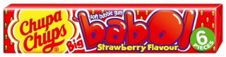 Chupa Chups Big Babol Strawberry 27,6g
