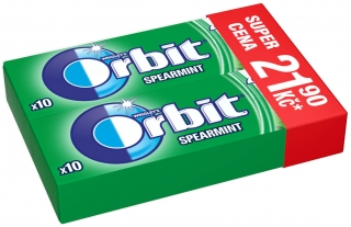 Orbit 2pack Spearmint 21,90