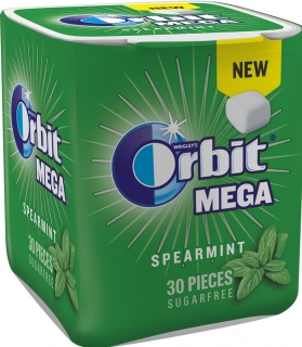 Orbit MEGA cubes Spearmint 66g