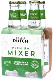 Double Dutch Cucumber/Watermelon 4x200ml nevratná láhev