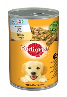 Pedigree konzerva 400g Junior Kuřecí