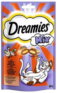 Dreamies Mix Kuře&Kachna 60g