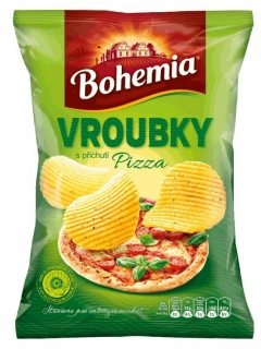 Bohemia Chips Vroubky Pizza 65g