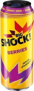 Big Shock Blueberry Raspberry 500ml