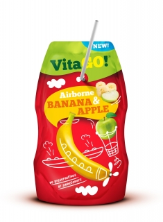 VitaGO Banana & Apple 200ml