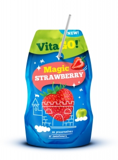 VitaGO Strawberry 200ml